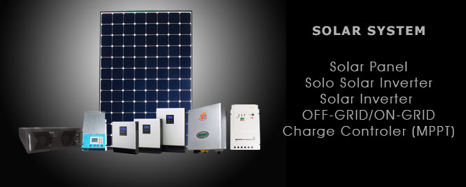 Pioneer System: Solar System: Complete power and industrial